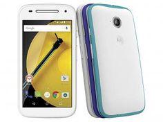 """Smartphone Motorola Moto E DTV Colors 2° Geração - Dual Chip 4G Android 5.0 Câm. 5MP Tela 4.5"""""""