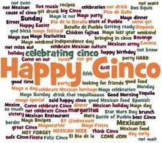 Happy Cinco de Mayo!  As the social web says, drink that tequilaaaaa! (responsibly, of course)