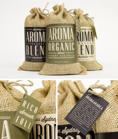 Rustic materials work really nice for food packaging. #packagedesign #packaging #designinspiration