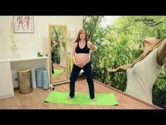 Ejercicios para embarazadas en el tercer trimestre - YouTube