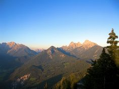 Panorama dalle vette Feltrine