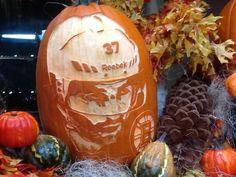 Patrice Bergeron pumpkin