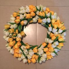 20 tulip bundles 12 per color rotate color 22 gauge wire - Wire Wreath Frame Hobby Lobby