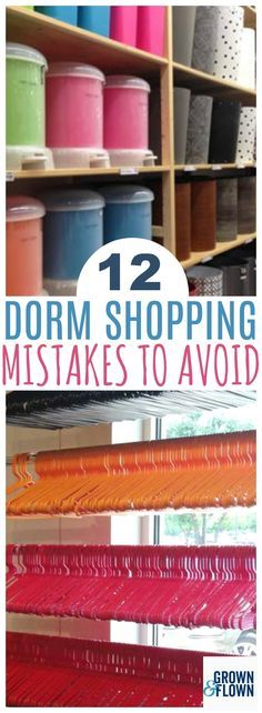 Shopping For Dorm Room Supplies When Your Child Goes Off To College Can Be Overwhelming
