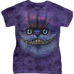 Tricouri The Mountain – Tricou Big Face Cheshire Cat Dama