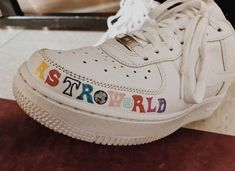"""Sneakers were referred to as 'plimsolls' when they were introduced in the century. People started to call them """"sneakers"""" because they didn't make. Sneakers Mode, Custom Sneakers, Custom Shoes, Sneakers Fashion, High Top Sneakers, Shoes Sneakers, Custom Painted Shoes, Kd Shoes, Jeans Shoes"""