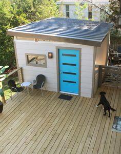 12x16 Modern Studio(EL) - Kanga Room Systems: Models Gallery - Backyard Office-Guest House-Pool House-Art Studio-Garden Shed-Tiny House