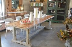 Antiques, French Provincial furniture, tables, chairs : Country Trader, Greytown, Wairarapa