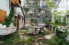 アメリカ各地に点在する廃墟化してしまった精神病院の内部を撮影した写真シリーズ「American Asylums」です。過剰にも感じるほど頑丈に作られたドア、機材の一部が残る手術室、剥がれ落ちる壁や天井、建屋内に侵...