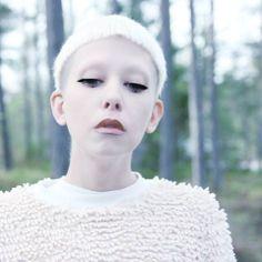 MTM EMPIRE CROP TOP NUDE £45 www.mindthemustard.com #fashion #eastlondon #label #brand #designer #blonde #model #stockholm #UK