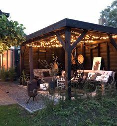 Steel Pergola Attached To House - - - - Retractable Pergola Videos - Pergola Garten Wand Outside Gazebo, Backyard Gazebo, Backyard Patio Designs, Pergola Patio, Backyard Landscaping, Patio Ideas, Gazebo Ideas, Backyard Ideas, Pergola Kits