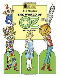 The World of Oz Paper Dolls by Ted Menten