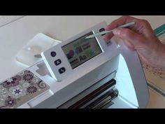 Tuto Scan N Cut : découper du tissu pour une création - YouTube