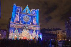 Cathédrale Saint6jean - Fête des Lumières