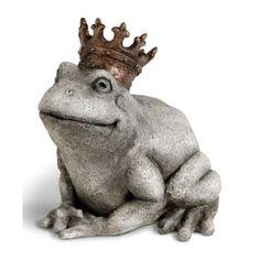 garden frog statue. Garden Statue.My Prince? Frog Statue