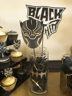 Black Panther Centerpiece