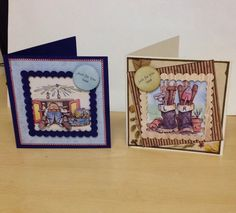 Two men's cards ....for a special. Dad !!!!