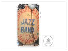 Jazz Band Drum Phone Case by theRDBcollection for iPhones and Samsungs  | Preservation Hall Jazz Band drum