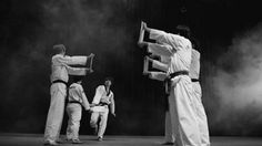 Jackie Chan breaks four pieces of Wood fighting sports gif fighting gifs jackie chan gifs four kicks at once teaching technique