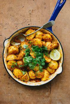 Potato Curry Recipe (vegan)