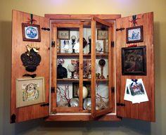 Cabinet of curiosity Scarabattolo wunderkammer by USHAKadm