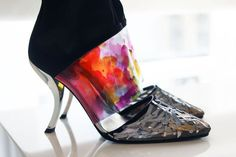 #RogerVivier Rendez-vous collection 2014 Comma heel.