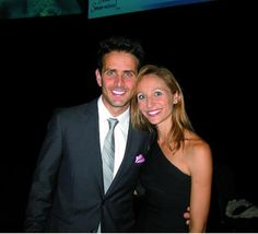Joey McIntyre family. He looks so good here. I'm a little jealous of his wife but at least he looks happy.