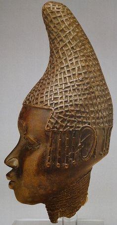 16th C. Head of a Benin Queen Mother brass, h. 35 cm The National Museums and Galleries on Merseyside Liverpool, UK