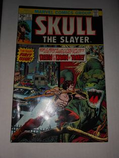 first issue Skull The Slayer 1975 by AllNightGarageSale