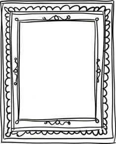 Projet de rentrée : l'autoportrait #doodles #doodles #borders Doodle Frames, Borders For Paper, Borders And Frames, Frame Template, Templates, Makeup Life Hacks, Page Borders, Ecole Art, School Signs