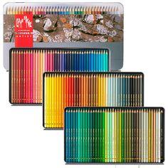 Lápis Mina Permanente Pablo Caran D'ache Estojo Lata com 120 cores - 30666.420 - CasaDaArte
