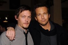 Norman Reedus and Sean Patrick Flanery in Boondock Saints