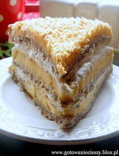 Tort Egipski - Gotuję, bo lubię