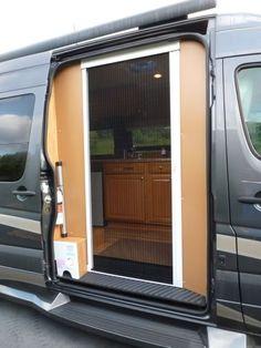 Screen So You Can Keep Door Open Reimo Moskitonetz Vw