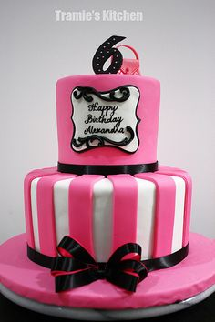 Barbie Fashion Show Cake