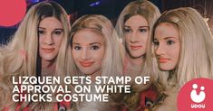 We stan a fun couple! LizQuen gets a stamp of approval from Marlon Wayne himself on their 'White Chicks' costume at the 'Black Magic Ball'! Duo Costumes, Epic Costumes, Best Couples Costumes, Flamingo Outfit, Marlon Wayans, White Chicks, Liza Soberano, Star Magic, Scene Outfits