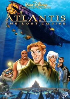Atlantis: The Lost Empire (2001) movie #poster, #tshirt, #mousepad, #movieposters2