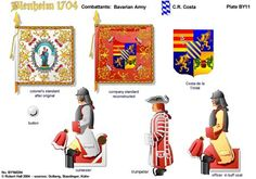 BLENHEIM 1704 BAVARIA:CR COSTA REGIMENT OF HORSE http://onmilitarymatters.com/images/RHBY11.jpg