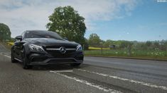 Forza Horizon 4 - C 63 S COUPE 2016 MERCEDES AMG #forzahorizon4 #mercedes #cars #s-coupe 4 C's, Forza Horizon 4, Spring Day, Mercedes Amg, Gaming, Cars, Cutaway, Videogames, Autos