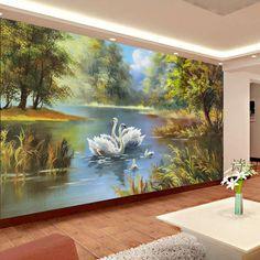 Venta-al-por-mayor-país-paisaje-lienzo-de-pintura-3d-foto-de-la-pared-papel-tapiz.jpg (700×700)