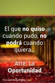 #Oportunidad