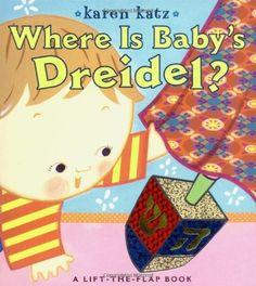 Where Is Baby's Dreidel?: A Lift-the-Flap Book (Karen Katz Lift-the-Flap Books) by Karen Katz, http://www.amazon.com/dp/1416936238/ref=cm_sw_r_pi_dp_4HKXqb0YC4DXW