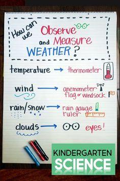 Little Kindergarten SCIENCE Thinkers – Unit 2: Seasons & Weather