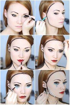 5умопомрачительных идей для макияжа наХеллоуин