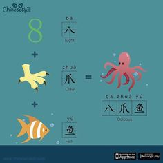 "An Octopus is an ""Eight Clawed Fish!"""