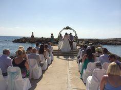 Cyprus Dream Weddings, our exclusive wedding pier
