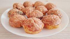 """""""Deze muffins moet je echt vaker maken mam,"""" aldus mijn oudste dochter. En ik ben het helemaal met haar eens, wat een heerlijke combinatie zijn rauwe ham, kaas en koriander! Dit heb je nodig voor 12 muffins: -6 eieren -10 dunne plakjes rauwe ham -Geraspte kaas -2 eetlepels ongeklopte slagroom -2 theelepels koriander -Knoflookpoeder of … Low Carb Keto, Low Carb Recipes, Healthy Recipes, Savory Pastry, Food Challenge, Sugar Free, Meal Prep, Food Prep, Healthy Eating"""