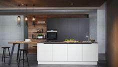Auch für kleine Raumsituationen perfekt geeigent: die ewe50 Küche