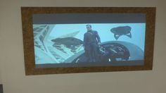 DIY EASY MARBLE PROJECTION SCREEN! THINK OUTSIDE THE BOX WITH CRYSTAL ED...