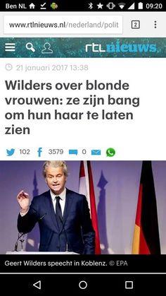 Wilders liegt weer en 'nieuwsmedia' zetten het door  Dit is de zoveelste keer dat Wilders onzin vertelt. Wat zou hij doen als hij nog meer macht krijgt? Met dingen die die moeilijker na te gaan zijn?  En RTL zet dat gewoon door. Daarom ook een screenshot en geen link. RTL promoot nu acceptatie van de leugens van Wilders voor advertentie inkomsten. Dus deel geen links meer alleen screenshots als je aan iets over Wilders refereert op internet.